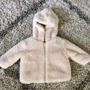 Gymboree Baby Hooded Fleece Jacket size 0-3 months